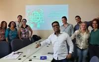 Equipe de trabalho do Projeto de Gestão do Conhecimento integrada à Educação Corporativa