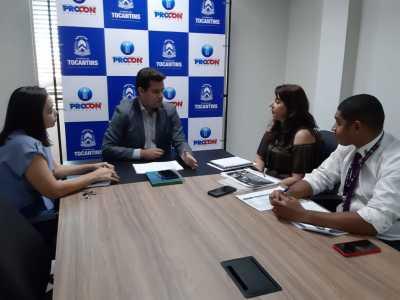 Em reunião, Procon Tocantins apresenta demandas de consumidores para operadora Vivo