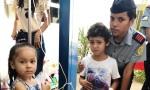 Os bonecos foram distribuídos às crianças que se encontram internadas no hospital