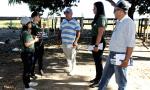 Equipe do Comitê do Fogo orienta proprietários rurais sobre os malefícios do fogo