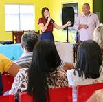 Gerente de proteção especial da Setas, Canilda Cruz, destaca o engajamento dos municípios envolvidos