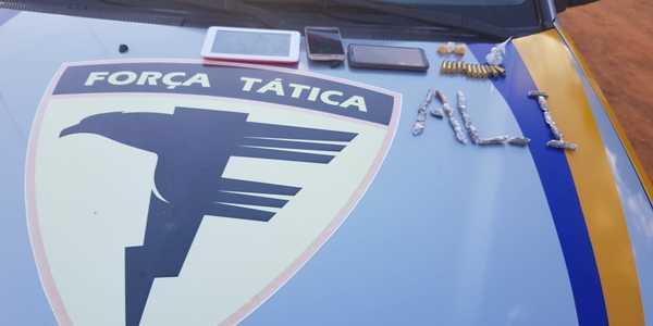 Foto 01Após denúncia anônima, PM apreendeu drogas e munições em Formoso do Araguaia_600x300.jpg