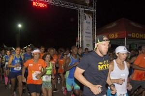 Corrida do Fogo atrai mais de 1300 atletas, em Palmas