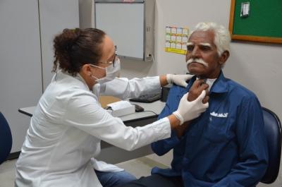 O Serviço de Cabeça e Pescoço do HGP oferta uma assistência de qualidade ao paciente,  com profissionais qualificados no assunto.