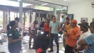 Foto 02 - Brigadistas do Parque do Lajeado recebem atualizações de técnicas do manejo do fogo – Crédito Divulgação-Naturatins.jpeg