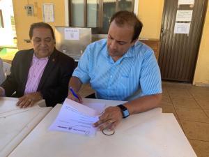 Presidente da Jucetins, Gleydson Nato, oficializa doação de equipamentos para Casa de Apoio Vera Lucia
