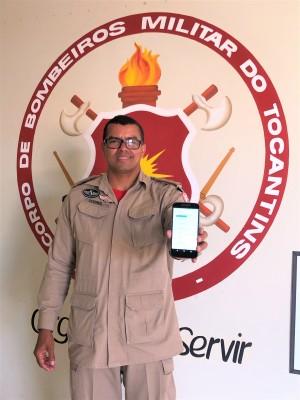 Major Soares, gerente do Sistema Integrado de Operações