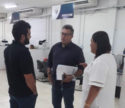Secretário executivo realiza realiza visita técnica em unidades do É Pra Já de Araguaína