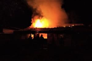 Combate à incêndio residencial teve ação do Corpo de Bombeiros Militar