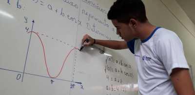 Durante o ano os alunos têm se preparado para as provas da maior olimpíada de matemática nas escolas