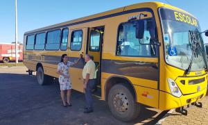 Cerca de 120 itens internos e externos foram inspecionados nos ônibus do programa Caminho da Escola