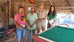 Araguatins recebe informações de prevenção a queimadas durante estiagem