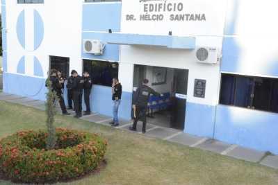 Poder Legislativo de Colmeia é alvo da Operação Midas da Polícia Civil