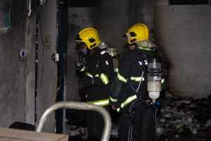 Ação rápida dos bombeiros militares impediu avanço do incêndio