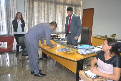 O advogado Marcelo Netto Resende foi empossado como vice-presidente do Conselho Penitenciário do Estado do Tocantins