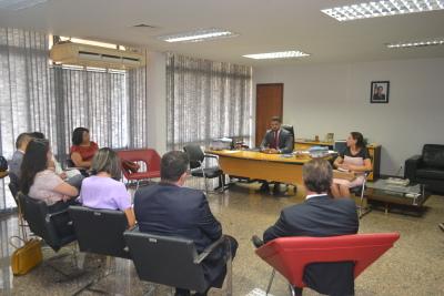 Secretário da Seciju empossou presidente e vice-presidente do Conselho Penitenciário