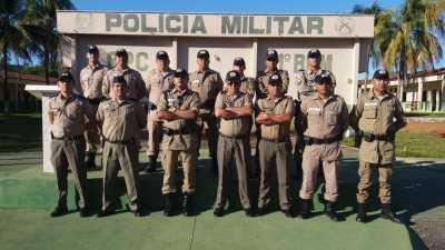 Policiais militares realizam curso