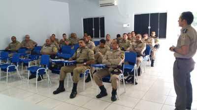 1º Batalhão inicia capacitação do efetivo.j