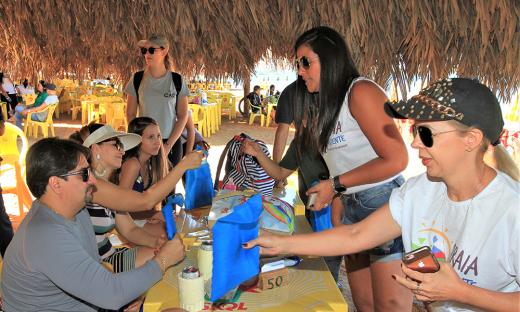 Ação de educação ambiental, Praia Consciente foi lançado no dia 29 de junho, em Palmas