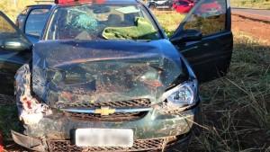 Veículo se envolveu em batida na Transcolinas, região central do Tocantins