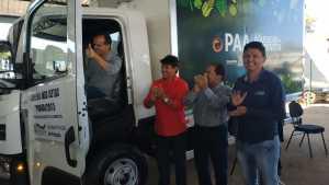 A ação destinou à Prefeitura de Porto Nacional, um Caminhão frigorífico completo