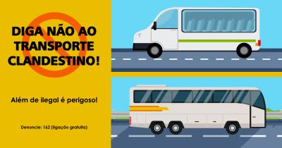 Campanha contra o transporte clandestino