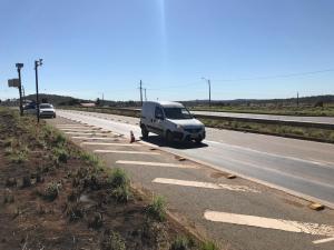 Ação aconteceu na região centro-norte para verificar a leitura dos medidores de velocidade em conformidade com as máximas permitidas na via