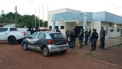 Cerca de 80 policiais civis participam de cumprimento de mandados durante Operação Place de Grève no Sudoeste do Estado