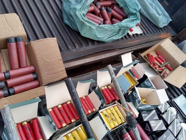 , Centenas de munições de calibres diversos apreendidas pela Polícia Civil