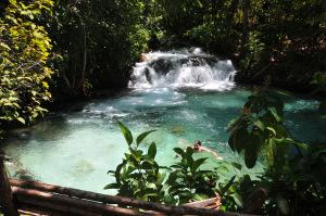 A Cachoeira do Rio Formiga é um dos atrativos do Jalapão