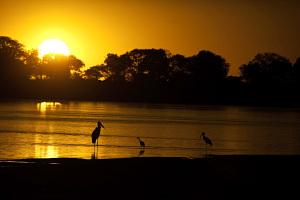 O Parque do Cantão possui um dos mais lindos por do sol