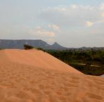 As dunas do Jalapão recebem anualmente turistas do Brasil e outros países