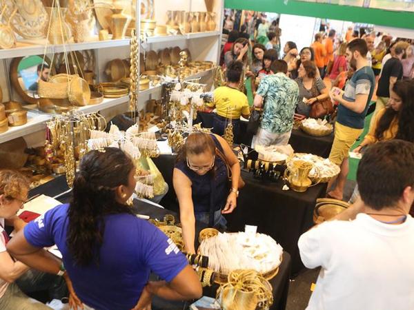 Estande do Tocantins na Feira tem alta visitação