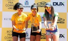 Cristina foi a terceira colocada no feminino 10 km na etapa do circuito realizada no Jalapão - Divulgação/Olympikus