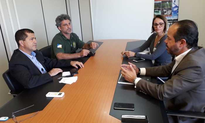 No encontro foi discutido um Acordo de Cooperação para apoiar a regularização ambiental dos atrativos turísticos no Jalapão e Serras Gerais do TO