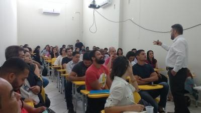 Capacitação de gestão e fiscalização de contratos foi dedicada a servidores da Secretaria da Cidadania e Justiça – Valdenice Rodrigues/Governo do Tocantins