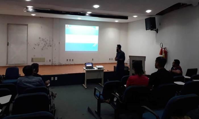 O gerente de Controle e Recursos Hídricos, informou aos participantes que o próximo passo é criar um sistema totalmente on-line