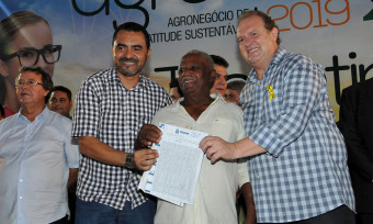 Durante a Feira de Tecnologia Agropecuária do Tocantins (Agrotins 2019) foram entregues 23 títulos definitivos