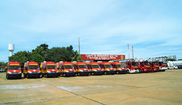 Veículos de salvamento e resgate do Corpo de Bombeiros Militar