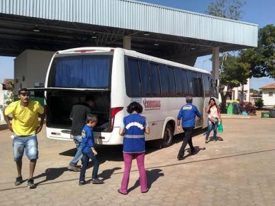 Fiscalização no terminal rodoviário de Araguaina