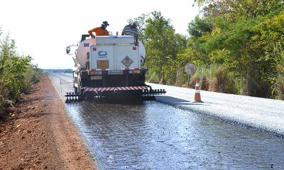 Ao todo, serão 1.382,86 km que serão reconstruídos e recuperados em todo o Tocantins