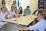 Indústria e Comércio, em reunião na sede da pasta, com parceiros, discute ações voltadas para a Cadeia Produtiva do Pequi