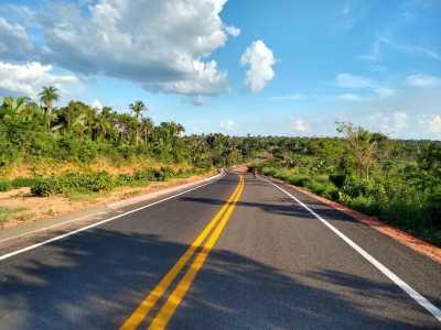 O asfalto novo vai beneficiar diretamente os moradores de Tocantinópolis.