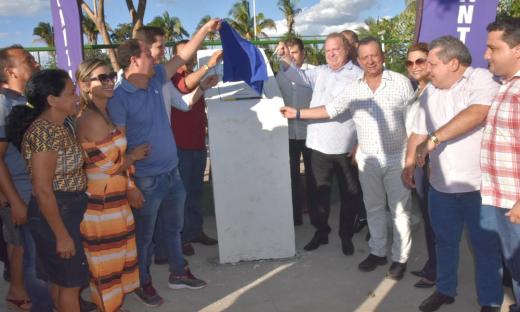 Mauro Carlesse inaugurou a pavimentação asfáltica do trecho rodoviário da TO-126, entre a cidade de Tocantinópolis e o povoado Ribeirão Grande
