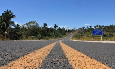 O trecho conta com 7,8 km e contou com um investimento de R$ 6.731.631,47, recursos do Tesouro Estadual