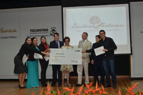 Prêmio Eudoro Pedroza, que incentiva ideias criativas nas áreas de Gestão e Políticas Públicas