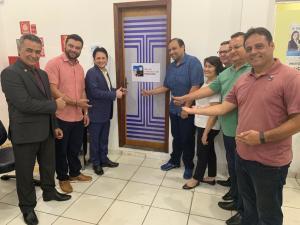 Sala do Contador e do Empresário foi inaugurada nesta quinta-feira, 1, com a presença dos parceiros da Jucetins