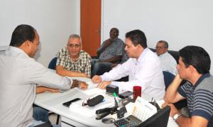 Presidente da Adapec recebe diretoria do Sisepe