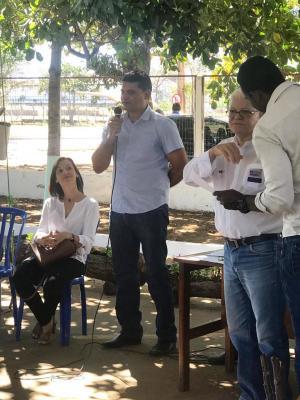 Gerente do Ruraltins, Edmilson Rodrigues prestigiou o lançamento da edição 2019 do projeto em Palmas.