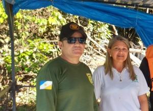 Foto 03 Equipe do Naturatins da APA Ilha do Bananal-Cantão visita base de fiscalização do trecho do Rio Caiapó_Crédito Divulgação - Naturatins_300.jpg